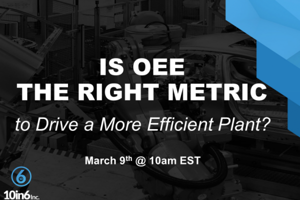 Is OEE the Right Metric to Drive an Efficient Plant?